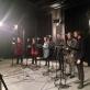 """""""Virtualus choras"""". Įrašai Muzikos inovacijų studijų centre. Asmeninio archyvo nuotr."""