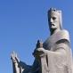 Regimantas Midvikis, paminklas karaliui Mindaugui, fragmentas. 2003 m.