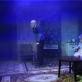 """Aidas Matutis ir Gintarė Ramoškaitė spektaklyje """"Tobula pora (The Perfect Match, arba Su Naujais metais, Ionesco!)"""". S. Jankausko nuotr."""