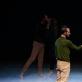 """Blake Seidel ir Ema Senkuvienė spektaklyje """"X ir ateities X"""". K. Latvytės-Bibiano nuotr."""