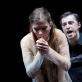 """Eglė Grigaliūnaitė ir Vainius Sodeika spektaklyje """"Hamletas"""". D. Stankevičiaus nuotr."""