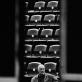 """Eimuntas Nekrošius Elsinoro pilyje Danijoje repetuoja spektaklį """"Hamletas"""" (2001). D. Matvejevo nuotrauka iš parodos """"Nekrošiaus teatras: abipus uždangos"""""""