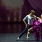 """Ignas Armalis ir Kristina Gudžiūnaitė šokio kompozicijoje """"Love is just a xoxo"""". M. Aleksos nuotr."""