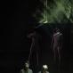 """Matas Samulionis ir Andrius Laucevičius (Phun Thomas) spektaklyje """"Newborn"""". E. Kovalenko nuotr."""