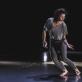 """Oksana Griaznova šokio spektaklyje """"Asmens kodas"""". E. Sabaliauskaitės nuotr."""
