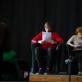 """Šiuolaikinės dramaturgijos festivalis """"Dramokratija"""". I. Bručkutės nuotr."""