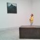 """Thiery De Cordier, """"Jūros augimas"""" (Mer montée). 2011 m. Richard Serra, """"Pasolini"""". 1985 m. Instaliacijos fragmentas, paroda """"Enciklopediniai rūmai"""", Venecijos bienalė"""