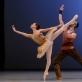 """Viltė Lauciūtė ir Jonas Laucius šoka """"Pas d'esclave"""" iš baleto """"Korsaras"""". M. Aleksos nuotr."""