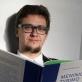 Vytautas Michelkevičius skaito savo monografiją apie meninį tyrimą. Asmeninio archyvo nuotr.
