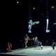 """Scena iš spektaklio """"Šokis objektui ir vaikui"""". D. Putino nuotr."""