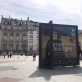 """Parodos """"Laukinės sielos. Baltijos šalių simbolizmas"""" reklama mieste. V. Mačianskaitės nuotr."""
