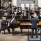 Rūta Rikterė ir Zbignevas Ibelhauptas, Juozas Domarkas ir Lietuvos nacionalinis simfoninis orkestras. D. Matvejevo nuotr.