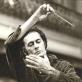 Algis Žiūraitis Nacionalinėje filharmonijoje. 1982 m. Nuotrauka iš A. Žiūraitytės asm. archyvo