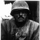 "Don McCullin, ""Kontūzytas JAV jūrų desantininkas Vietname, Huê"". 1968 m."
