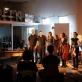 """Egidija Medekšaitė ir styginių kvartetas """"Quatour Bozzini"""" (Kanada), Monrealis. Asmeninio archyvo nuotr."""