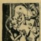 Cornelia Gurlitt, be pavadinimo. Litografija. 1917 m. ©VVGŽM