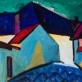 """Jonas Švažas, """"Kretingos gatvė"""". 1972 m."""