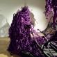 """Mary Sibande,  kūrinio """"Trijų amžių seka"""" fragmentas. 2013 m. Autorės nuotr."""