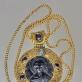 Panagija su grandinėle. XII–XV a. Kijevo Rusia, Bizantija. Radimvietė nežinoma
