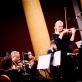 Ingrida Rupaitė-Petrikienė, Modestas Barkauskas ir ir Šv. Kristoforo kamerinis orkestras. R. Šeškaičio nuotr.