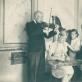 Muzikuoja Prano Viržonio šeima. Panevėžys, 1933 m. R. Viržonytės ir R. Aleknaitė-Bieliauskienės archyvo nuotr.