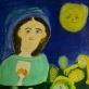"""Petronėlė Gerlikienė, """"Vasara. Kristui aukojami žolynai"""" (1977)"""