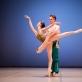 Dominyka Vosyliūtė ir Martynas Čiučiulka M.K. Čiurlionio menų mokyklos Baleto skyriaus Gala koncerte. T. Ivanausko nuotr.