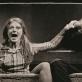 """Rasa Samuolytė (Olga) ir Gytis Ivanauskas spektaklyje """"Ugnies veidas"""". D. Matvejevo nuotr."""