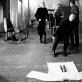 """Andrius Mamontovas spektaklio """"Hamletas"""" repeticijoje. D. Matvejevo nuotr."""