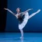 Elzė Sadauskaitė  Baleto skyriaus Gala koncerte. M. Aleksos nuotr.