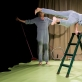 "Jenny Soddu ir Julietta Birkeland spektaklyje ""Tvarkos diena"". D. Matvejevo nuotr."