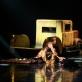 """Scena iš spektaklio """"Amžinybė ir viena diena"""". M. Aleksos nuotr."""