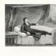 Viljamo Šarpo (1749–1824) raižinys pagal vaškinę figūrą, sukurtą Katerinos Andras (1775–1860). Tadas Kosciuška, 1800/1855. Pop., vario raižinys