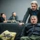 """Dainius Gavenonis (Dornas) ir Darius Meškauskas spektaklyje """"Žuvėdra"""". D. Matvejevo nuotr."""