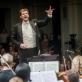 Nacionaliniam simfoniniam orkestrui diriguoja Modestas Pitrėnas. D. Matvejevo nuotr.