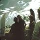 """Aleksandros Kasubos Niujorko vizualiųjų menų mokyklos studentai kuria aplinką, kurioje gyveno per 1972-ųjų festivalį """"Whiz Bang Quick City 2"""" Vudstoke. Skaitmeninis Aleksandros Kasubos archyvas LNDM"""