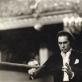 """Algis Žiūraitis diriguoja spektakliui """"Romeo ir Džuljeta"""" Maskvos Didžiajame teatre. 1976 m. Nuotrauka iš A. Žiūraitytės asm. archyvo"""