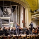 Bernardas Petrauskas, Modestas Pitrėnas ir Nacionalinis simfoninisorkestras. M. Mikulėno nuotr.
