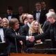 """Zbignevas Levickis, Gintaras Rinkevičius ir Valstybinis simfoninis orkestras. M. Ambrazo nuotr., """"Lietuvos rytas"""""""