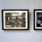 """Romualdas Požerskis, """"Lietuviška Amerika 1988"""", paroda Kultūros centre, Plungė, 2018 m. """"Dienraščio """"Draugas"""" spaustuvė"""", Čikaga, 1988 m.; """"Amerikos balsas"""", Vašingtonas, 1988 m. A. Narušytės nuotr."""