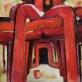 """Jonas Švažas, """"Raudoni vamzdžiai"""". 1976 m."""