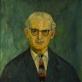 """Jonas Švažas, """"Profesoriaus Kairiūkščio portretas"""" (1962)"""