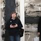 Parodos atidarymo fragmentas: dailininkas Ramūnas Čeponis, menotyrininkė Jurgita Ludavicienė ir kontrabosininkas Arnoldas Gurinavičius. V. Usinavičiaus nuotr.
