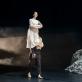 """Aušra Krasauskaitė ir Darius Berulis šokio spektaklyje """"Eglė žalčių karalienė"""". M. Aleksos nuotr."""