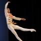 """Edvinas Jakonis šoka variaciją iš baleto """"Drugelis"""". M. Aleksos nuotr."""
