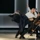 """Ignas Armalis, Tomas Ceizaris, Aistis Kavaliauskas ir Tomas Kratkovskis balete """"Stebuklingas mandarinas"""". M. Aleksos nuotr."""