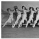 Lietuvių merginų grupė Leningrado choreografijos mokykloje. L. Aškelovičiūtės archyvo nuotr.