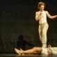 "Nikki Rummer ir Jean-Daniel Broussé (Nikki ir JD) spektaklyje ""Mazgas"". D. Matvejevo nuotr."