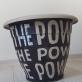 """Rolandas Rimkūnas, """"Power to believe"""". 2020 m.. Kinijoje pagaminta plastikinė vaza, flomasteriai."""