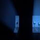 """Scena iš garso instaliacijos-performanso """"Olympian machine"""". Rengėjų nuotr."""